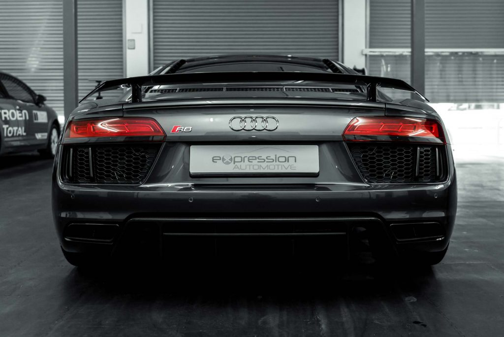 Audi R8 fitted with PPF installed by Expression Automotive in Baildon