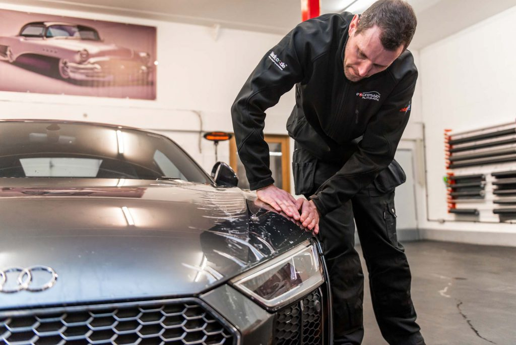 Dealership Approved Window Tinting on Audi, Bentley, Ford, Lamborghini in Bradford, Yorkshire